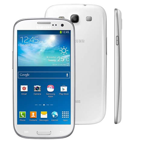 Hp Samsung Galaksi S3 Neo smartphone samsung galaxy s iii neo duos branco tela 4 8 quot dual chip c 226 mera 8mp android 4