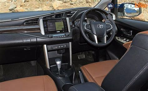 interior innova comparison review toyota innova crysta vs renault lodgy