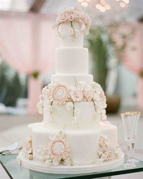 Cakes Of Wedding by Wedding Cakes Toppers Martha Stewart Weddings