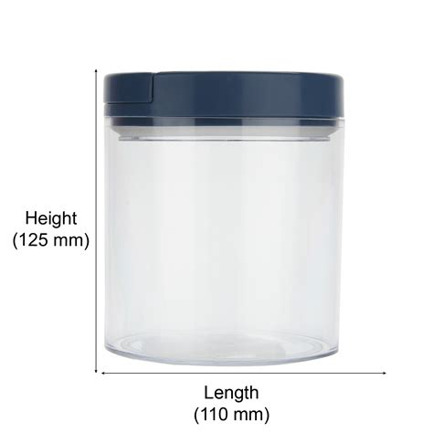 Shaker 750 Ml By Kitchenware jaypee plus seal it air tight container 2 blue 750 ml