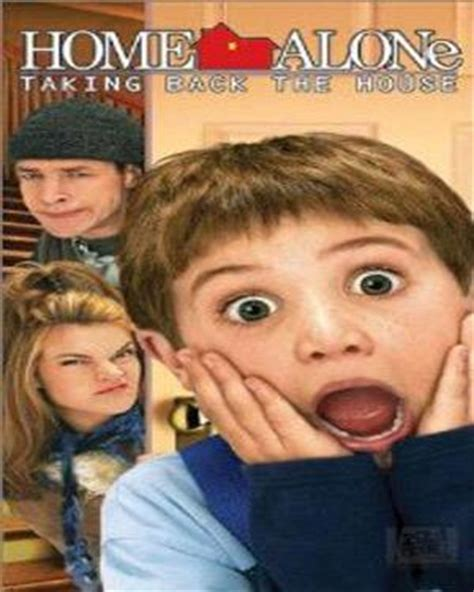 pin home alone 4 dvd cover doing homework on