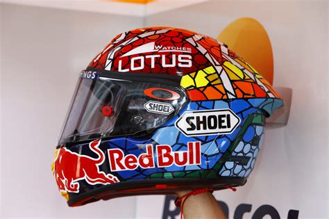 Helm Mm93 X14 By Lovelyn Motogp by Catalunya Special Helmet Paint Of Repsol Honda Motogp