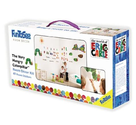 Very Hungry Caterpillar Wall Stickers the very hungry caterpillar nursery and playroom wall