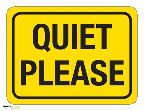 printable quiet signs the gallery for gt quiet please sign