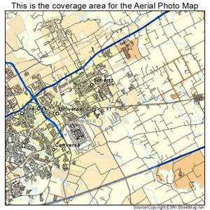 aerial photography map of schertz tx