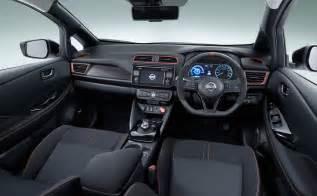 nissan leaf 2017 interior 2018 nissan leaf nismo interior dash the fast lane car