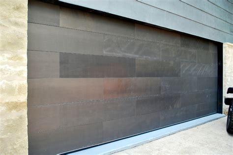 Paint Steel Garage Door Garage Door Clad In Paint Grip Steel Contemporary Garage By Cowart Door Systems