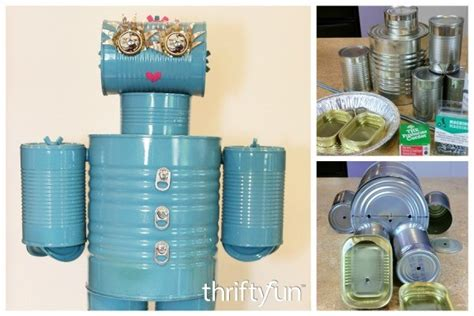 tin can robot a tin can robot thriftyfun