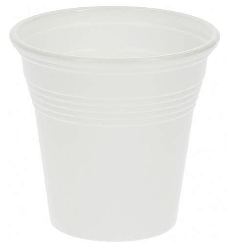 vaso de plastico ps blanco 80 ml 50 unidades monouso es