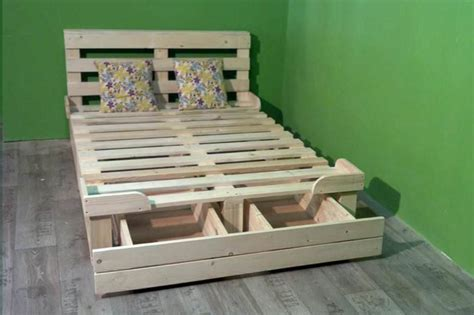 diy bed frame with drawers diy platform bed with drawers
