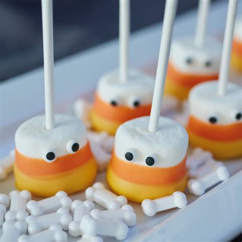 Candy Corn Marshmallows   Hallmark Ideas & Inspiration