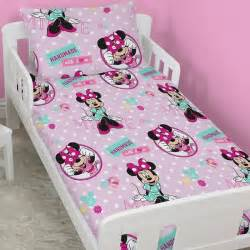 Minnie Mouse Toddler Bed Duvet Minnie Mouse Toddler Bedding Bundle Handmade
