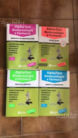 test ingresso biotecnologie alpha test farmacia posot class