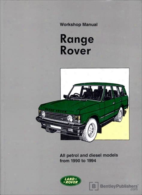 car repair manuals online pdf 1992 land rover range rover user handbook 1991 land rover range rover workshop manuals free pdf download 1989 land rover range rover