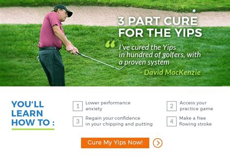 golf yips cure in golf swing cures for the chipping yips free instruction for the