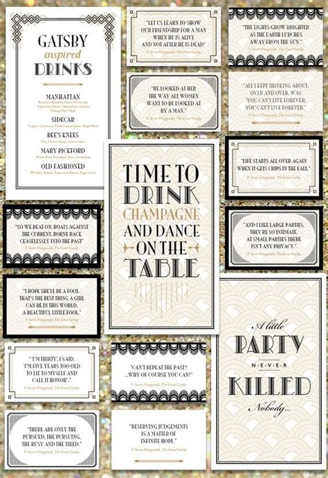 themes in the great gatsby worksheet 471 best great gatsby party images on pinterest