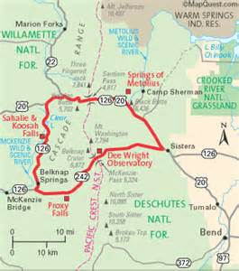 oregon scenic byways map wildernet pass santiam pass scenic byway