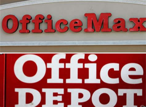 Office Depot Officemax Merger by Officemax Office Depot Merger Could Happen This Week