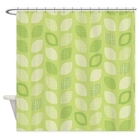 green leaves shower curtain leaves green shower curtain by admin cp45405617