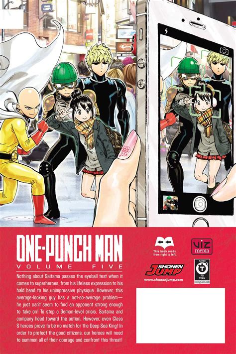 1421590158 one punch man vol anglais from the back of volume 5 that hurts onepunchman