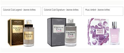 Parfum Original Jeanne Arthes Colonial Club Legend un nouveau parfum colonial club legend