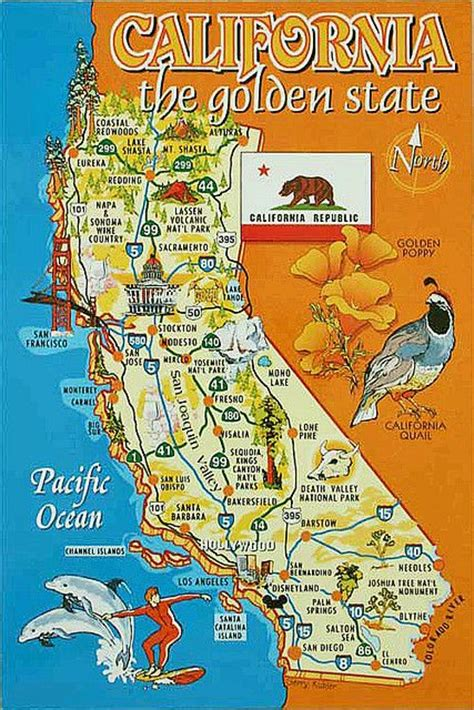 california map with tourist attractions map of california now my friends can see how far i am from