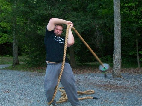 swinging ropes unique ways to train with thick ropes by jedd johnson