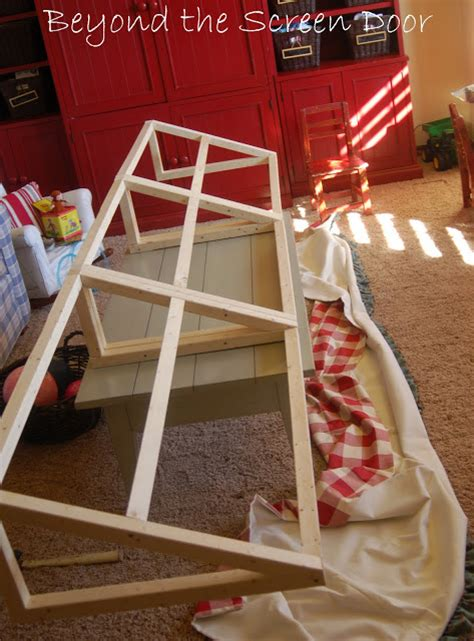 how to make a window awning frame an awning for the gameroom sonya hamilton designs
