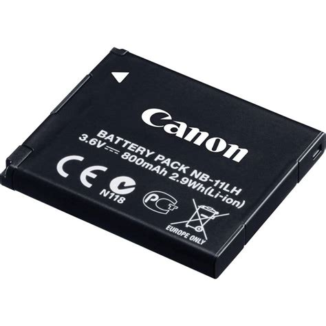 battery canon replaces original battery nb 11l nb