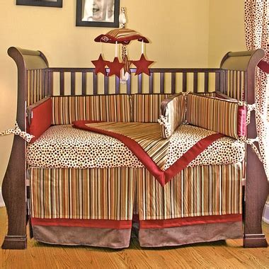Hoohobbers Crib Bedding Hoohobbers Tabasco 4 Crib Bedding Set Free Shipping