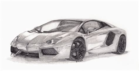 lamborghini sketch how to draw lambo aventador