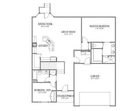 great room floor plan great room floor plan home ideas pinterest