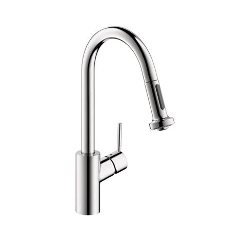 hansgrohe talis s kitchen faucet hansgrohe 14877001 talis s 2 spray higharc kitchen faucet pull