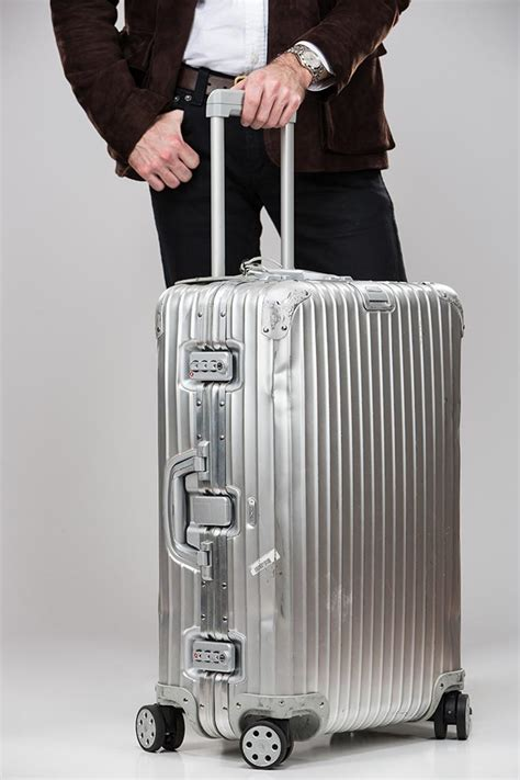 cabin luggage review rimowa topas suitcase luggage review he spoke style