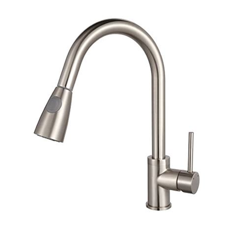 best faucets for kitchen sink read about luxice modern stainless steel single handle