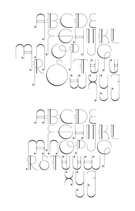 Fonts Musicals And Letter Form On