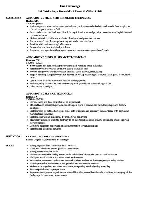 field service technician resume sle field service technician resume exles tomyumtumweb