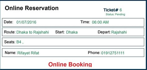 ebus online bus reservation ticket booking system by