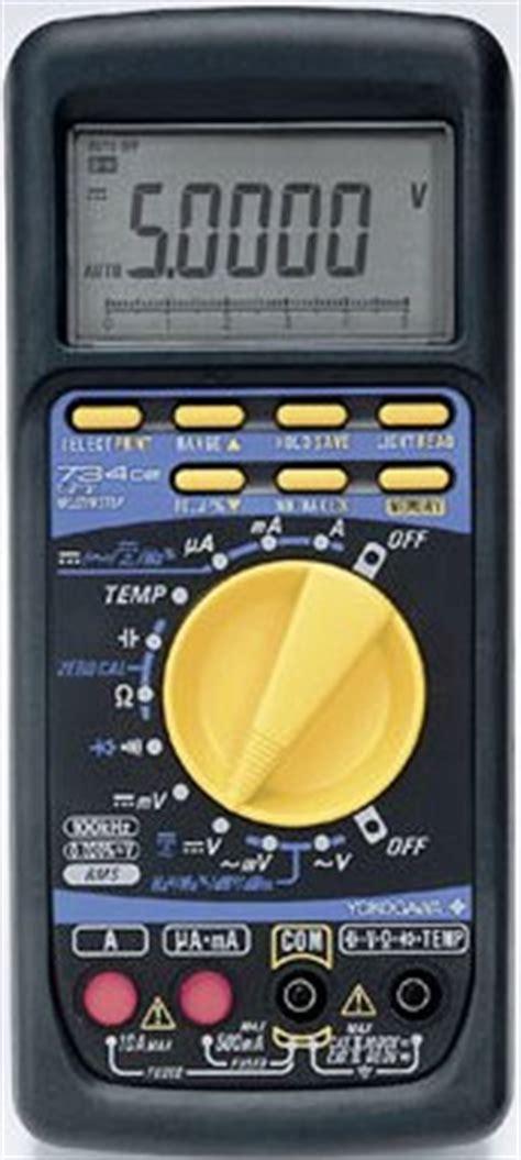 Multimeter Yokogawa yokogawa 73402 calibration and yokogawa 73402 repair