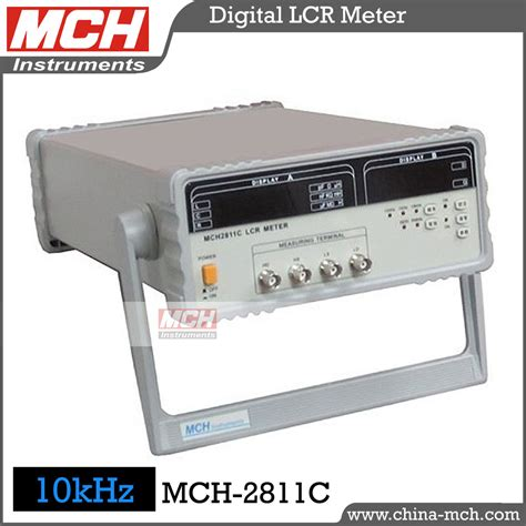 inductance measurement lcr meter mch 2811c 10khz accurate resistance capacitance inductance tester lcr meter in other measuring