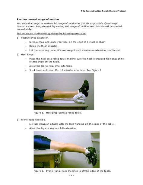 acl rehabilitation protocol