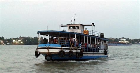 boat service centre in kolkata dakshineswar belur howrah millennium park ferry
