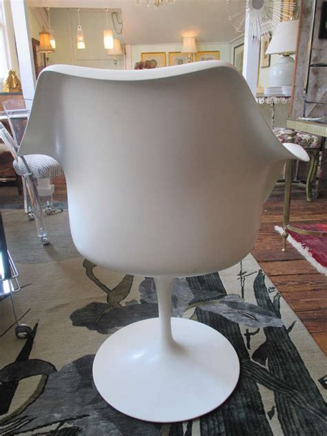 early version saarinen tulip chair for knoll at 1stdibs