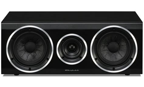 Wharfedale 102 Speaker Black Premium wharfedale 102c blackwood centre speaker single
