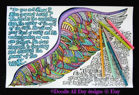 doodle god how to create feather eagles wings w doodle feathers isaiah 40 28 31