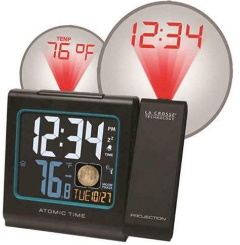 la crosse technology 616 146a atomic projection alarm ebay