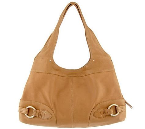 Sigrid Olsens Croc Embossed Leather Hobos by Sigrid Leather Venice Hobo Bag Page 1 Qvc