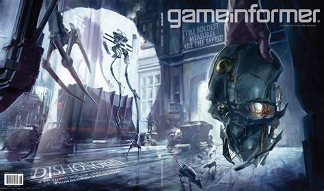 www gameinformer com august cover revealed dishonored news www