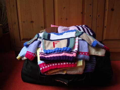 knitting for peace orphans in cape town to receive donated knitted clothes