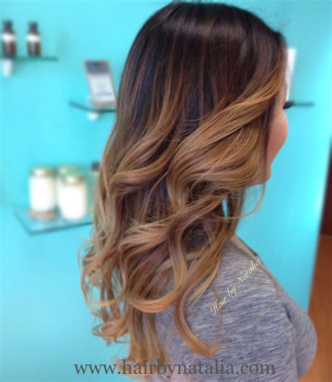 by natalia denver co vereinigte staaten balayage ombre hair color balayage bronder ombre warm caramel sombre soft